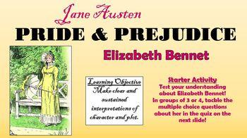 Pride and Prejudice - Elizabeth Bennet!