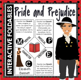 Pride and Prejudice: Reading and Writing Interactive Notebook Foldable