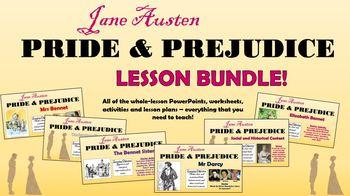Pride and Prejudice Lesson Bundle!