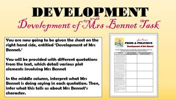 Pride and Prejudice - Mrs Bennet!