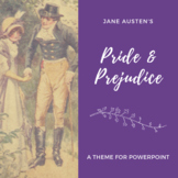 PRIDE AND PREJUDICE Theme for PowerPoint