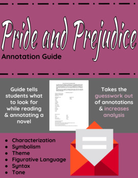 Pride and Prejudice Annotation Guide