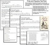Pride and Prejudice Test Pack -- Jane Austin