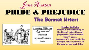 Pride and Prejudice - The Bennet Sisters!
