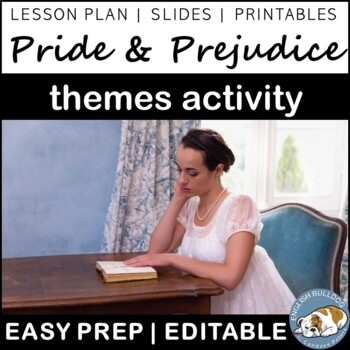 Pride and Prejudice Themes Textual Analysis Activity