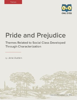 Pride and Prejudice: Themes of Social Class Developed Through Characterization