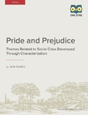 Pride and Prejudice: Themes of Social Class Developed Thro
