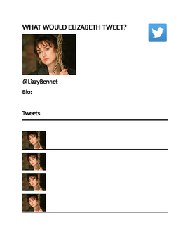 Pride and Prejudice Twitter Activity