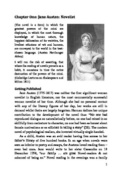 """""""Pride and Prejudice"""" by Jane Austen: A Critical Introduction"""