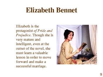 Pride and Prejudice by Jane Austen Novel Presentation Power Point