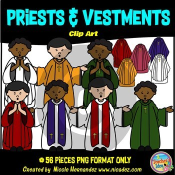 Priests Clip Art Commercial Use
