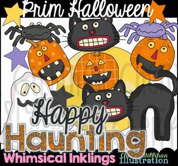 Prim Halloween Clipart
