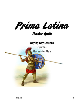Prima Latina Teacher Guide