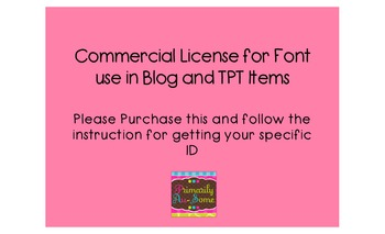 Primarily Au-Some Fonts  Licensure for Commercial Use