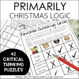 Christmas Logic Puzzles Gr. 1-3: Beginning Logic Puzzles