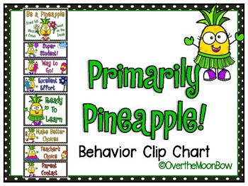 Primarily Pineapple Behavior Clip Chart