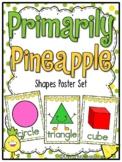 Primarily Pineapple | Shapes Poster Set | Polka Dot