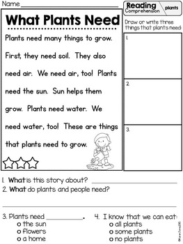 plants unit plan for k 1 by karen jones teachers pay teachers. Black Bedroom Furniture Sets. Home Design Ideas