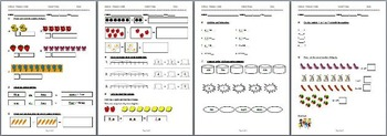 Primary 1 Math Exam Basic Addition and Subtraction
