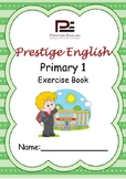 English Exercise Book – Primary 1 (ages 6+) (Vocabulary, G