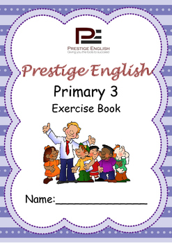 English Exercise Book – Primary 3 (ages 7+) (Vocabulary, Grammar, Comprehension)