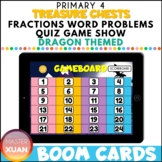 Primary 4 Treasure Chests: Fractions Word Problems Quiz Ga
