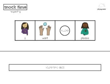 Primary AAC Starter Set:  Classroom Routines