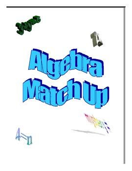 Primary Algebra Match Up Game