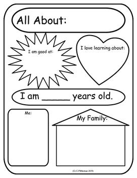 Primary All About Me