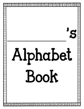 Primary Alphabet Book