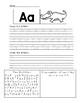 Primary Alphabet Book