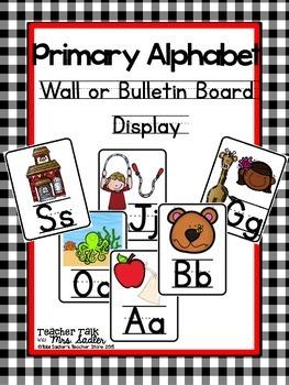 Primary Alphabet Display/Bulletin Board