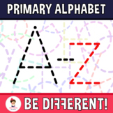 Primary Alphabet Clipart Letters (A-Z) And More