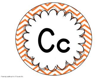 Primary Alphabet Line: Chevron