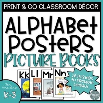 Classroom Alphabet Posters: Primary Books
