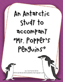 "Primary Antarctica Unit to accompany ""Mr. Popper's Penguins"""