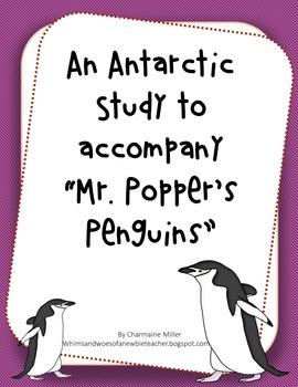 "Primary Antarctica Unit to accompany ""Mr. Popper's Penguins"""