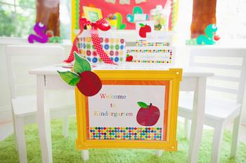 Classroom Decor Primary Apple Door Sign