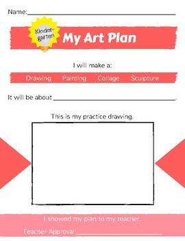 K-1 Art Plan for any artwork!