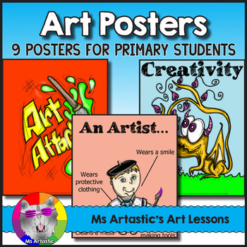 Art Posters for Primary