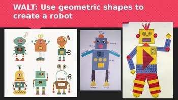 Primary Art project - 2D Robot creation