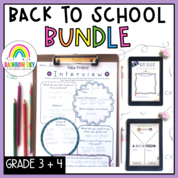 Back to School BUNDLE Years 3-4