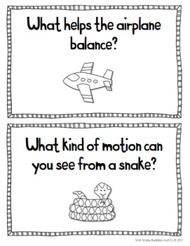 Primary Balance and Motion Freebie