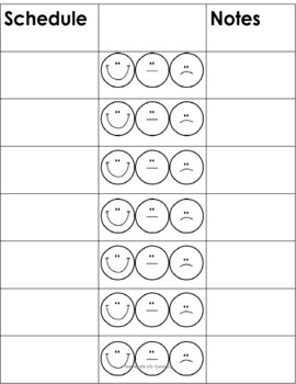 Primary Behavior Plan / Daily Behavior Chart