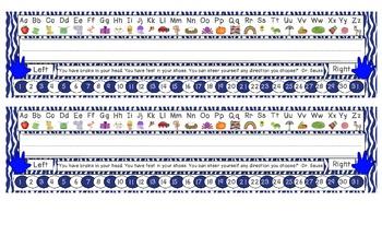Primary Blue Zebra Print Desk Reference Nameplates