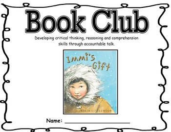 Primary Book Club Report Booklet- Reading Strategies for Primary Students