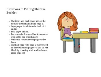 Primary Booklet Template