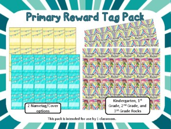 Primary Brag Tags Pack