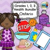Primary Bundle (Grades 1, 2, 3) Health Ontario Curriculum 2019 Updated