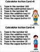 Primary Calculator Practice